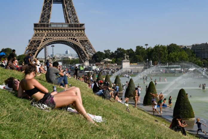 france europe climate weather heat