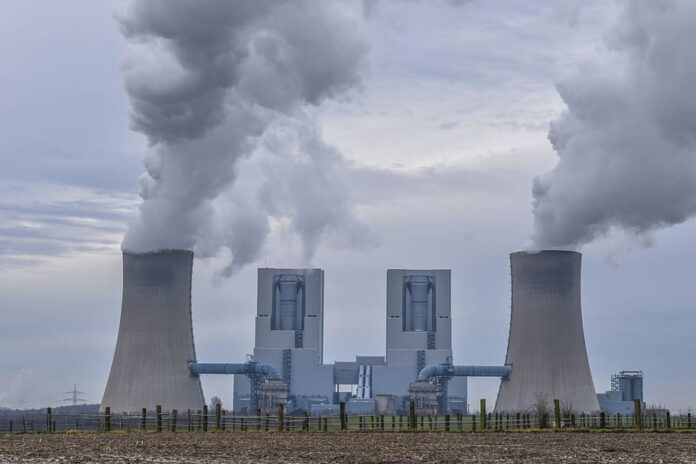 power plant coal fired power plant energy industry current chimney